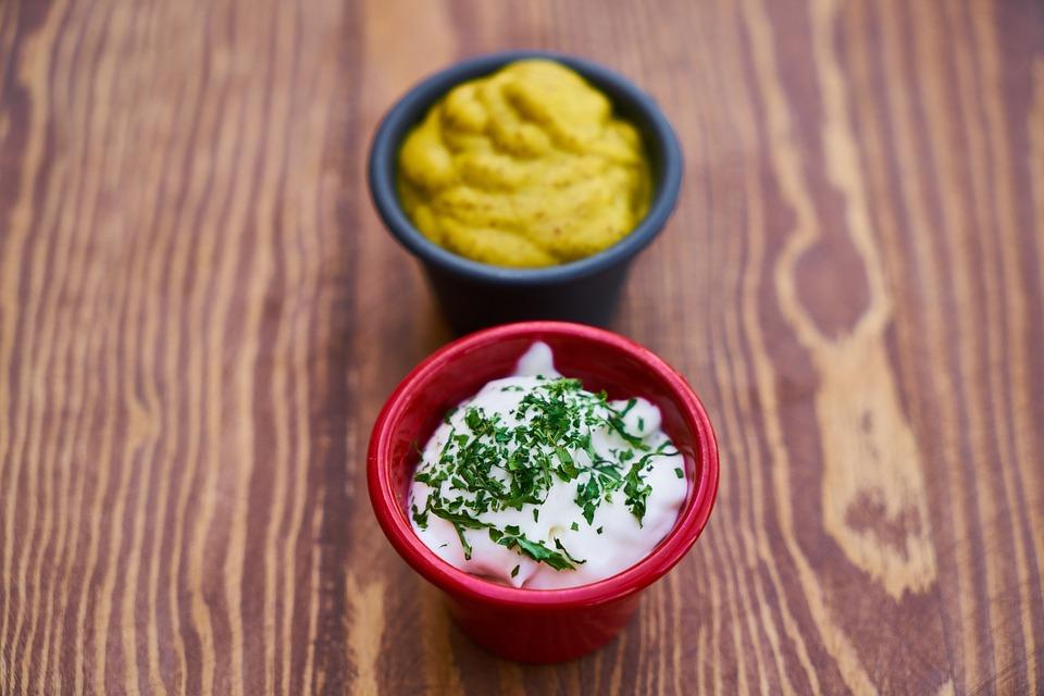 saus mosterd mayonaise gezond - gratis foto op pixabay