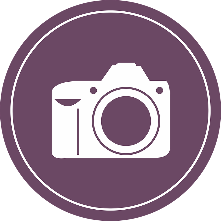 camera badge flat clip free image on pixabay rh pixabay com camera clip art free camera clip art transparent background