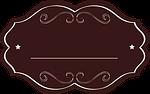 label, tag, brown