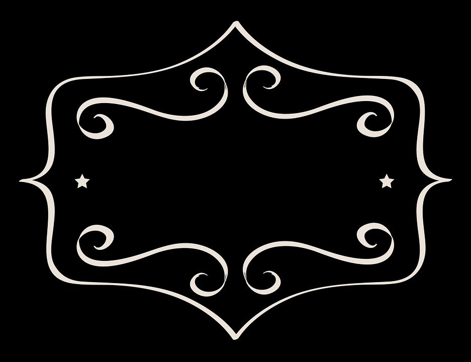 Free illustration: Label, Tag, Black, Oval, Fancy - Free ...