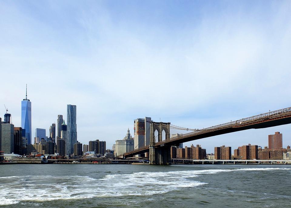 brooklyn bridge nyc new york kostenloses foto auf pixabay. Black Bedroom Furniture Sets. Home Design Ideas