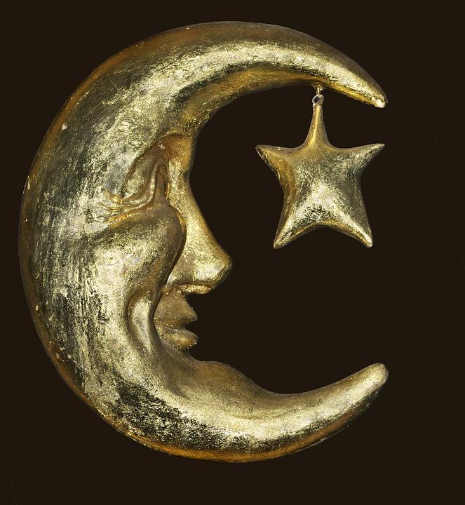 Boa Noite Lua Star Foto Gratuita No Pixabay