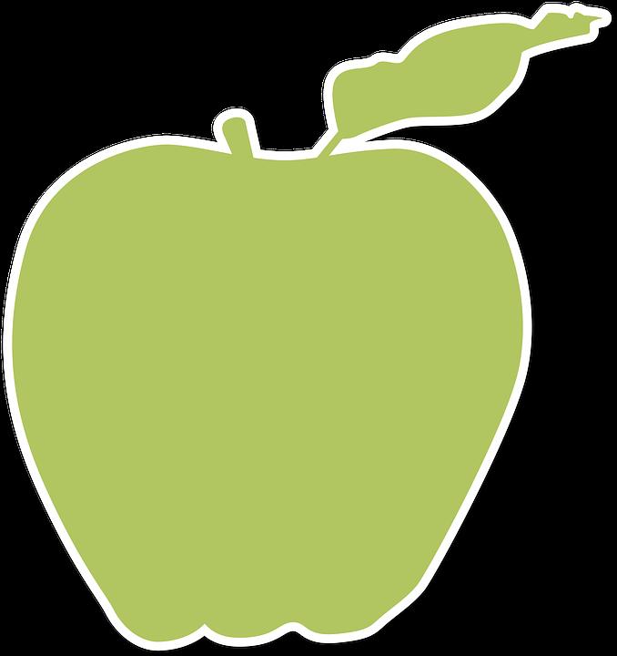 apple logo outline vector. silhouette, apple, fruit, farm, symbol apple logo outline vector