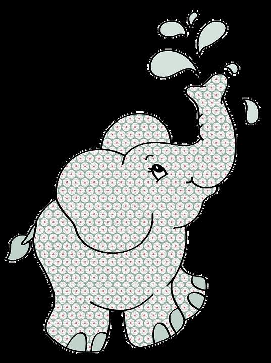 Download 42 Gambar Gajah Berwarna Keren Gratis