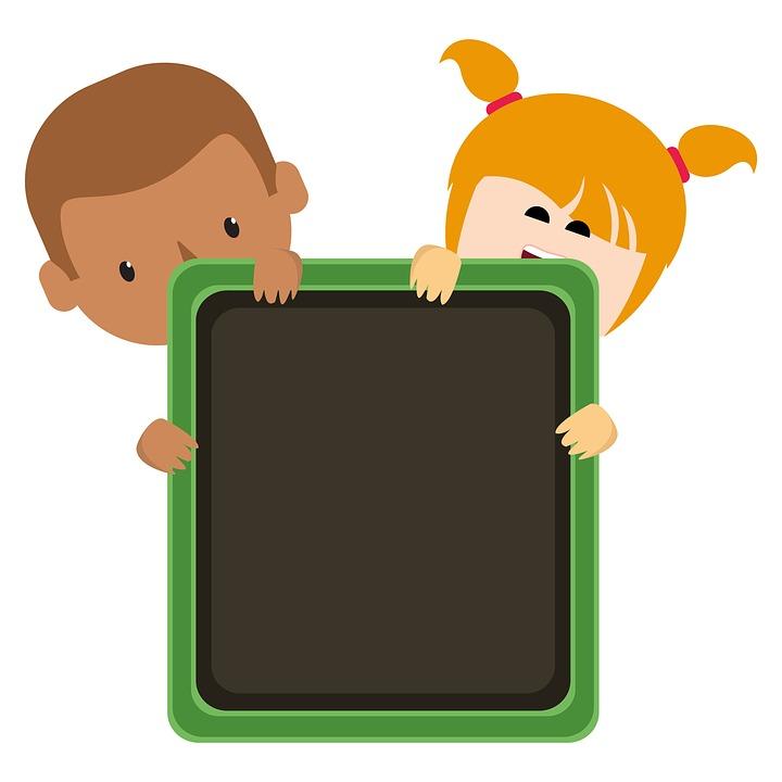 Tafel schreiben clipart  Kostenlose Illustration: Tafel, Kinder, Clipart, Niedlich ...