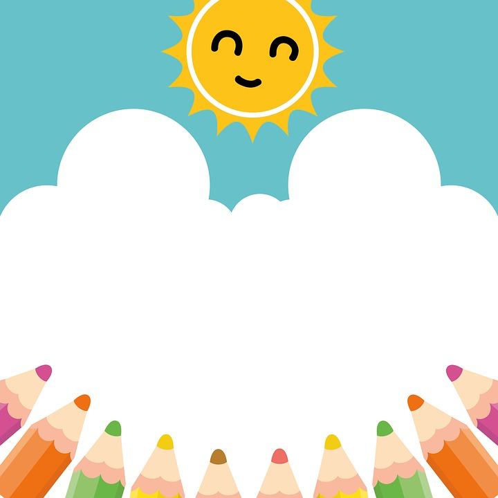 pencil sun sky free image on pixabay