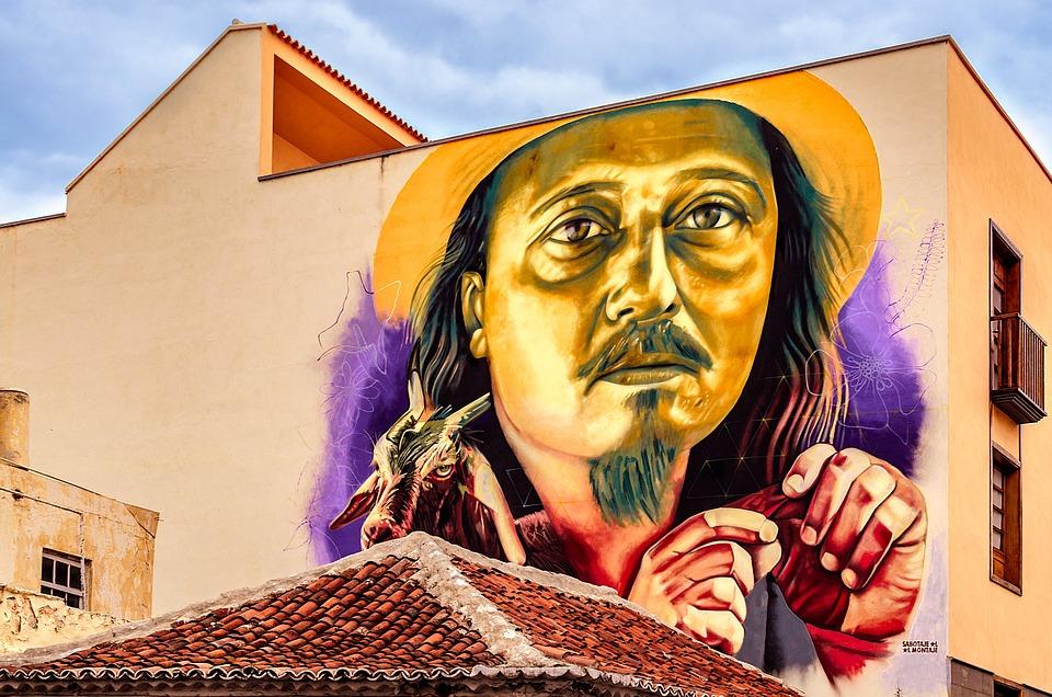 Resultado de imagen de puerto de la cruz street art