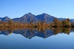 autumn, lake, mountains