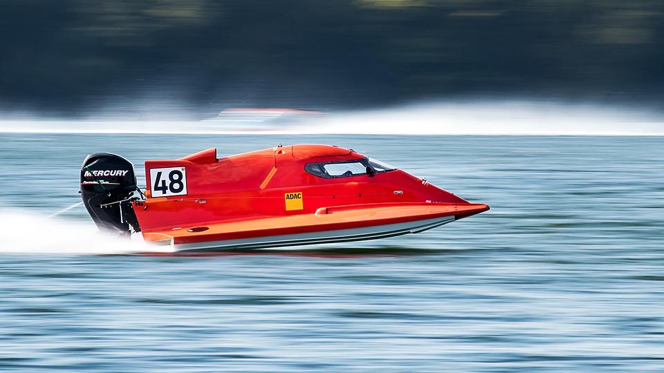 パワーボート, 速度, 高速モーターボート, 高速します, レーシング ボート, ウォータースポーツ