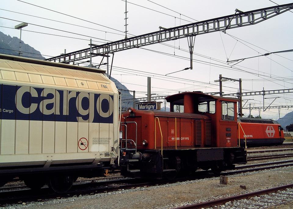 免费照片: 运输, 火车, 货物, 货运列车, 机车, 铁路