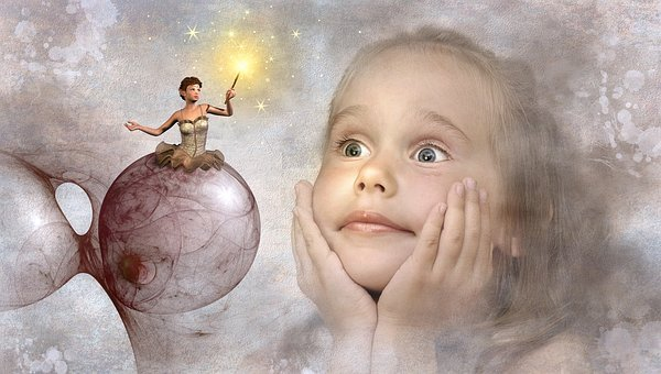 Fantasy, Child, Elf, Fee, Girl, Cheerful