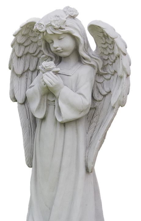 angel wing statue guardian free photo on pixabay
