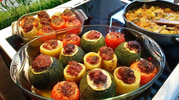 Stuffed Vegetables, Provence