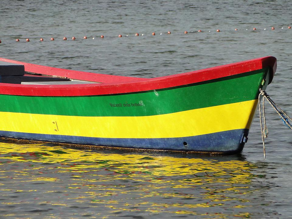 Boat Colors Water Free photo on Pixabay