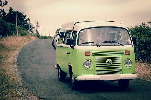 Van, Vw, Travel, Trip, Holiday, Vacation