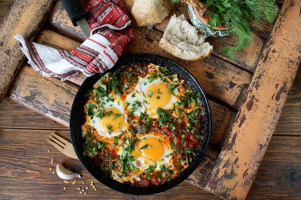 Georgia Huevos, Чирбули, Un Desayuno Saludable