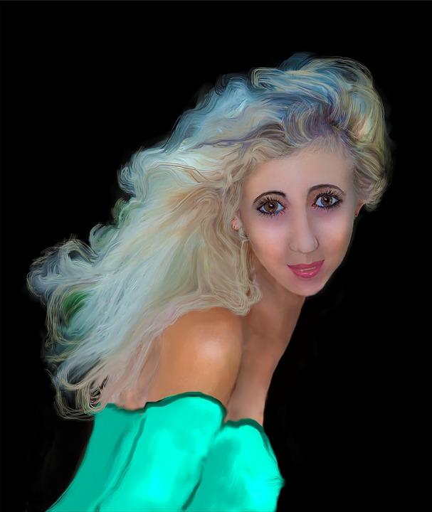 kostenlose blonde Bilder