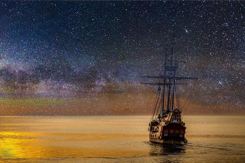 Звёздное небо и космос в картинках - Страница 40 Ship-2787544_960_720
