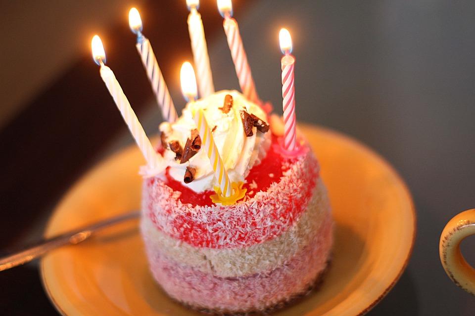 Cake Candles The Free Photo On Pixabay