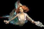 mermaid, mythical creatures