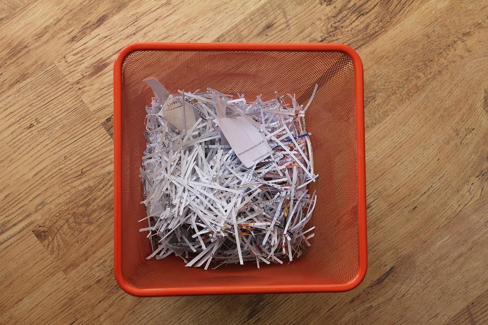 ของเสีย, กระดาษ, ถัง, ขยะ, การรีไซเคิล, ถังขยะ, กำจัด
