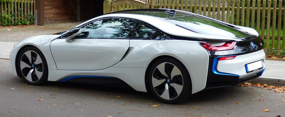 Attractive Bmw I8 Electric Car Pkw Auto Automotive Dare