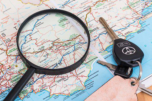 Map, Vacation, Travel, Driving, Holiday