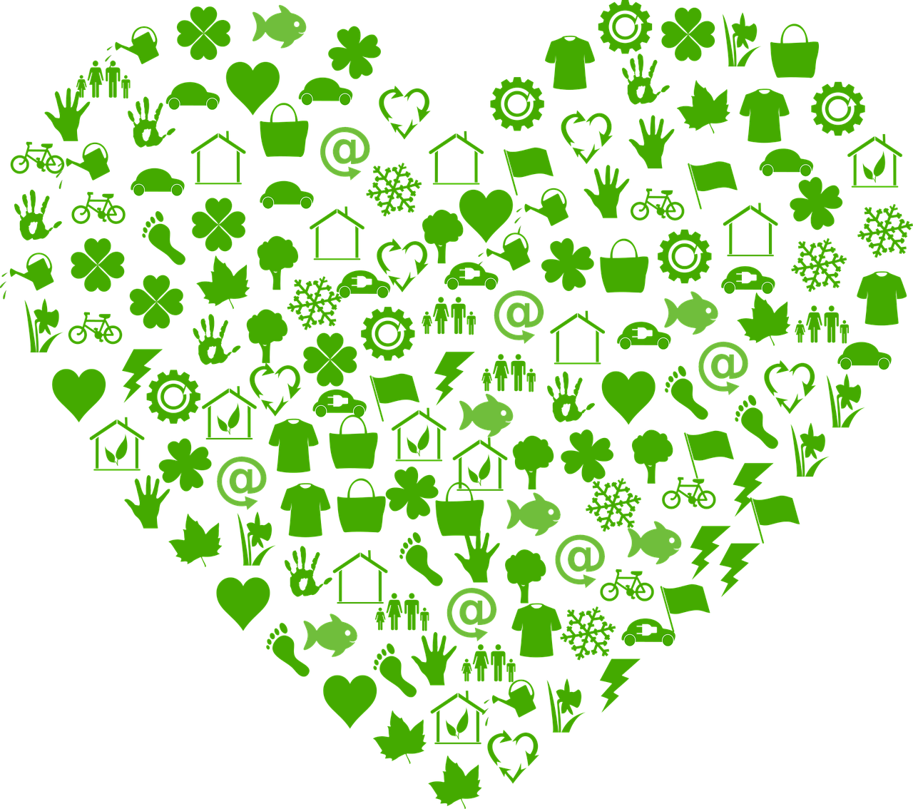 Ecology Ecological Heart - Free vector graphic on Pixabay