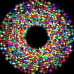 torus, circles, dots