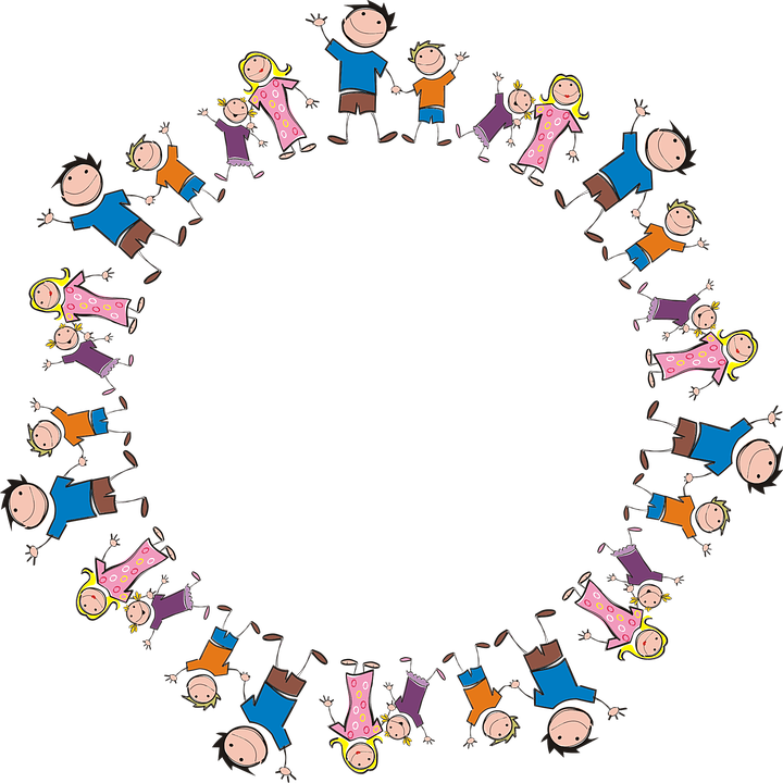 Familie Rahmen Gemeinsamkeit · Kostenlose Vektorgrafik auf Pixabay