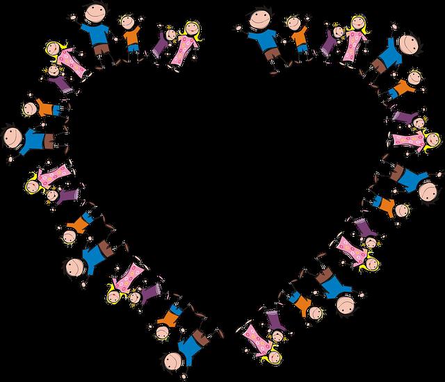 family frame heart free vector graphic on pixabay. Black Bedroom Furniture Sets. Home Design Ideas