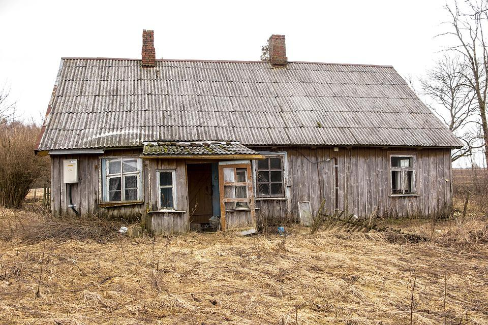 House, Old, Old House, Architecture, Building, Broken