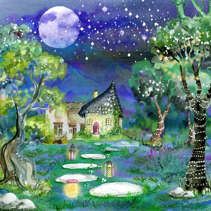 Illustration Conte De Fée arrière plan conte de fées - image gratuite sur pixabay