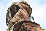 climb, rock, climber