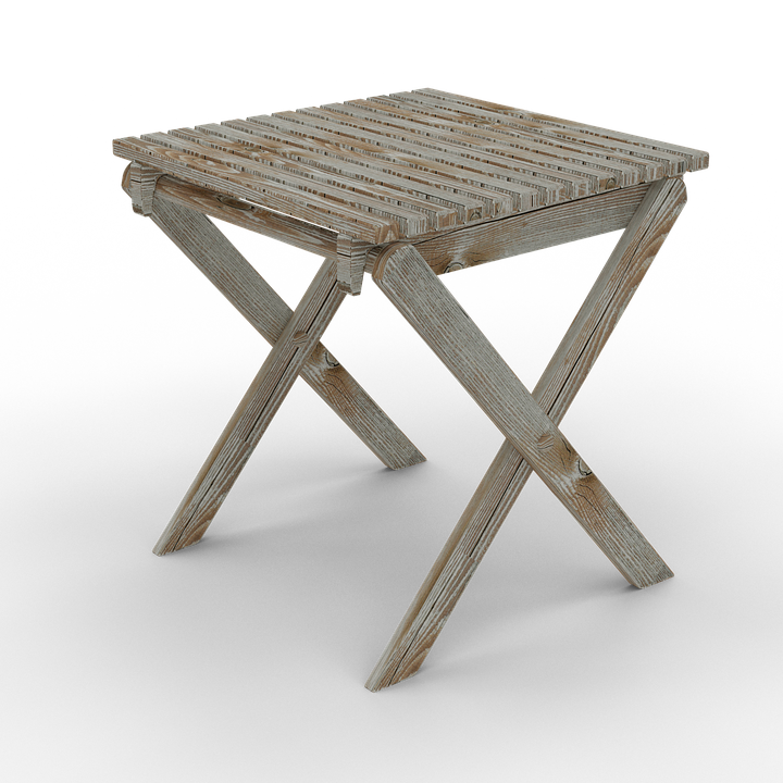 Folding Chair Old Wooden Chair Stool Vintage