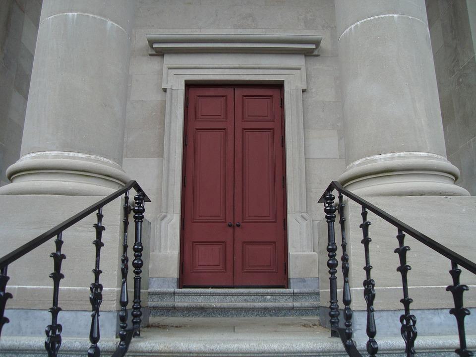 Doorway Door Pillars Entrance Masonry & Free photo: Doorway Door Pillars Entrance - Free Image on ... Pezcame.Com