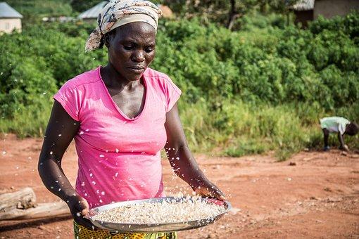 Gbagyi Woman, Farmer, Abuja, Nigeria