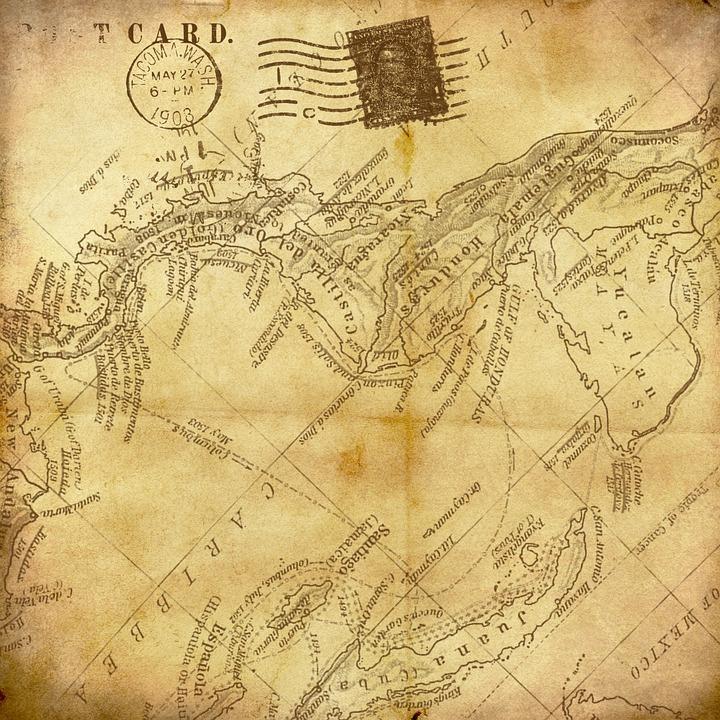 Vintage Mapa De Fondo Imagen Gratis En Pixabay