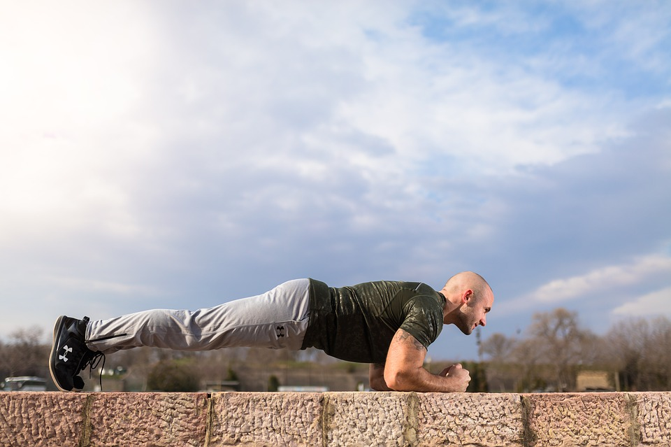 Plank, Abs, Sport, Fitness, Bodybuilding, Outdoor