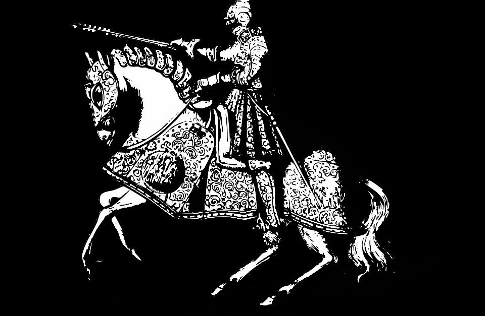 Ritter Mittelalter Rüstung Kostenlose Vektorgrafik Auf Pixabay