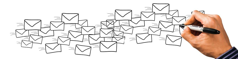 Brief, Email, Mail, Hand, Schreiben