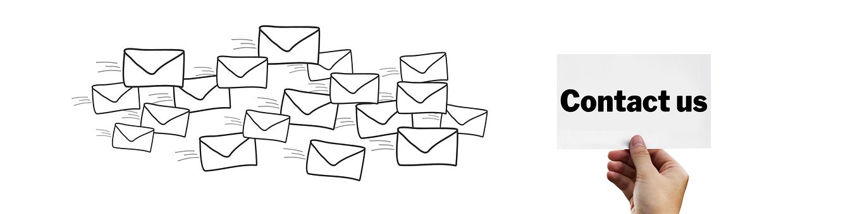 お問い合わせ, 訪問, 文字, 電子メール, メール, 手, 書きます, 過剰