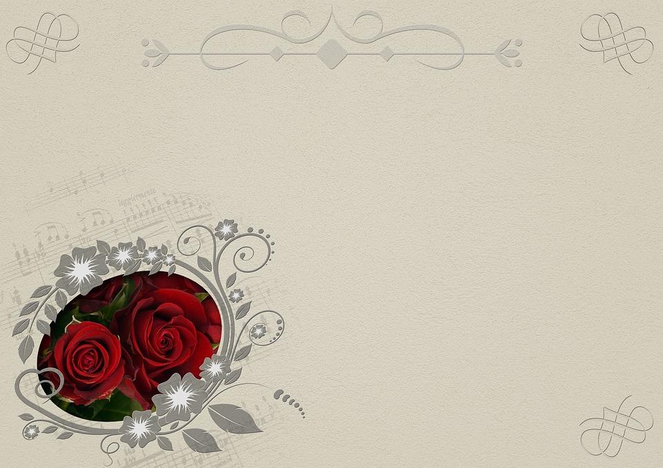 Rosen Rahmen Hintergrundbild · Kostenloses Bild auf Pixabay