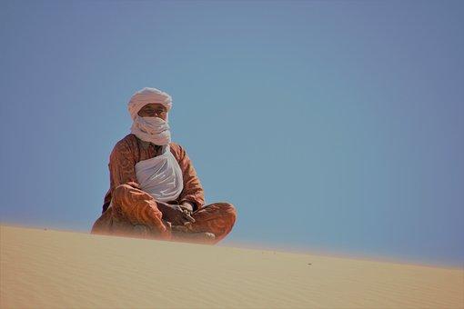 Algeria, Tassili N'Ajjer, Sahara, Tuareg
