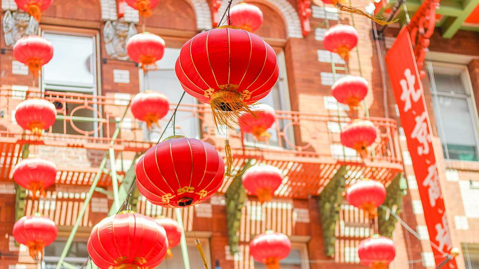Paper Lanterns Chinatown San Free Photo On Pixabay