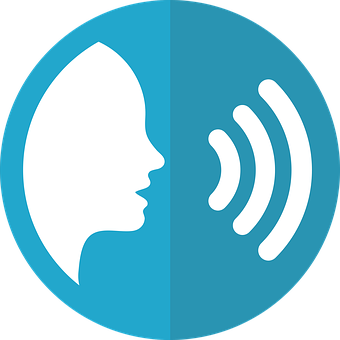 Speech Icon, Voice, Talking, Audio