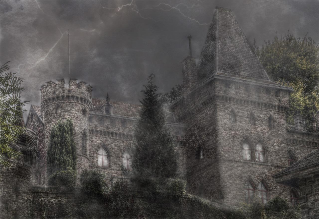 замки в тумане картинки