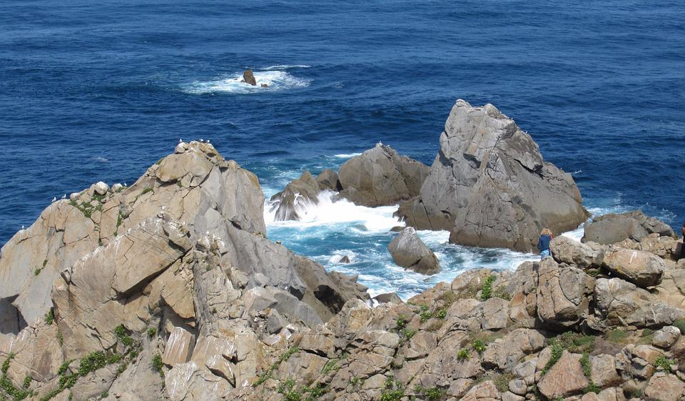 Cabo Ortegal, Galicia, Ortegal, El Agua, Paisaje