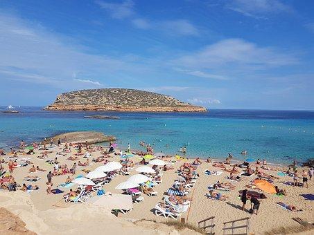 Vista Playa de Ibiza