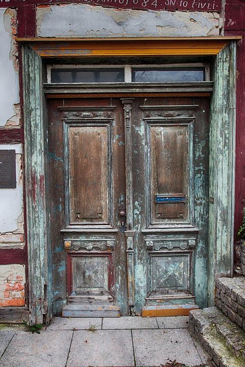 De Entrada Puertas Madera Foto Gratis En Pixabay